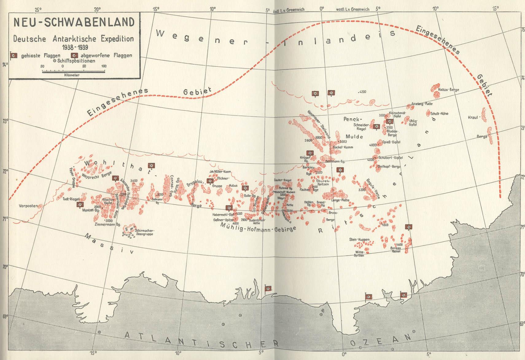 Новая швабия в антарктиде