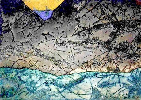 Работа из геллереи антарктических картин Комельфо на сайте Чугунного Козьмы.